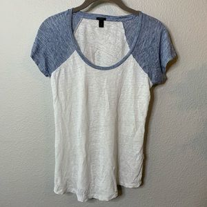Women's J. Crew Thin Raglan Tee Shirt